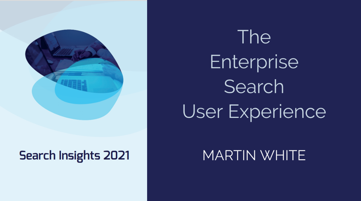 The Enterprise Search User Experience