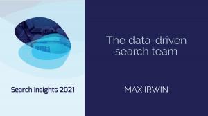 The Data-Driven Search Team